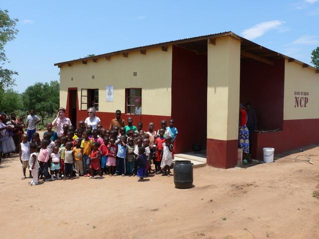 NCP der Hilfsorganisation Hand in Hand e.V. Wiesbaden in Afrika