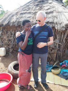 Siyabonga Myeni und Joachim Muffler
